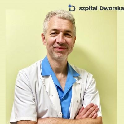 lek.med. Łukasz Hauer - spec. chirurg ogólny, torakochirurg
