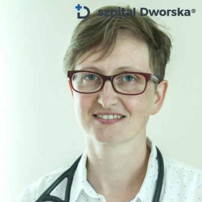 lek.med. Katarzyna Smółka -  spec. chorób wewnętrznych i kardiologii