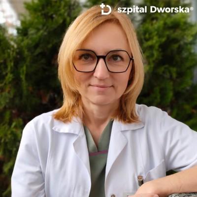lek.med. Jolanta Hauer - spec. chirurg ogólny II, torakochirurg
