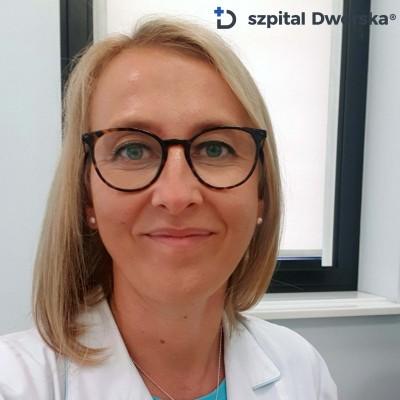 dr n. med. Beata Róg - spec. kardiolog, chorób wewnętrznych