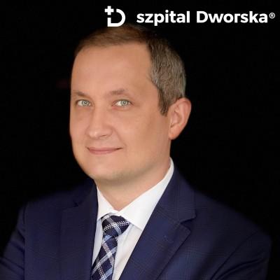 lek.med. Wojciech Pirowski- spec. chirurgii onkologicznej, spec. chirurgii ogólnej